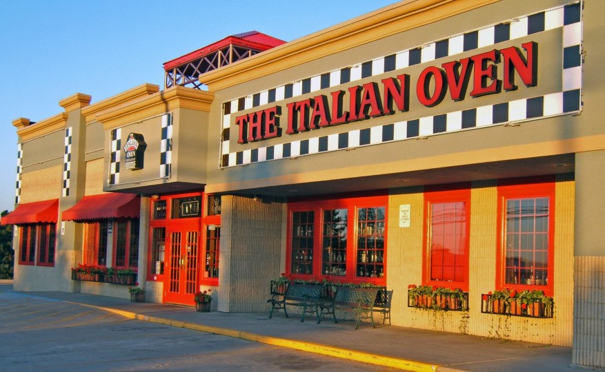 Italain Oven Restaurant Entrance