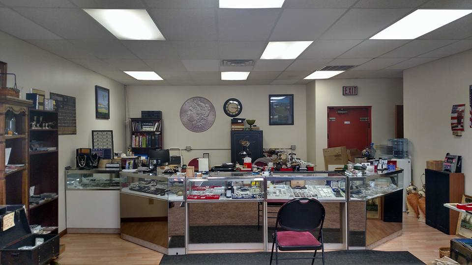 Jack of All Trades Coins and Collectables Front Desk
