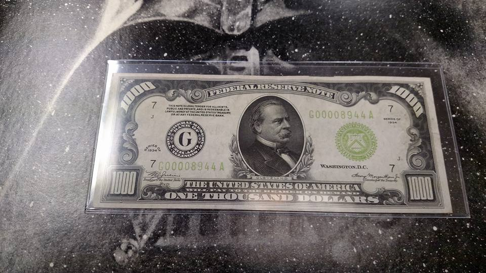 Jack of All Trades Coins and Collectables Hundred Dollar Bill